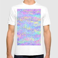 Four Colors Mens Fitted Tee White SMALL