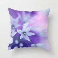 Dusky Violet Throw Pillow