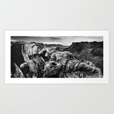 Canyon Graces Art Print