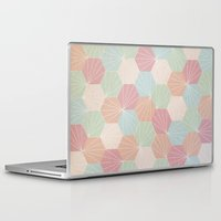 pastel Laptop & iPad Skins featuring Pastel by According to Panda