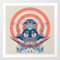 Space Ritual Art Print