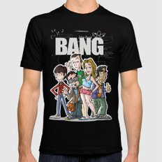 Bang! Mens Fitted Tee Black SMALL