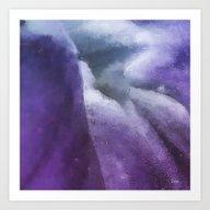 Inside The Purple Flower… Art Print