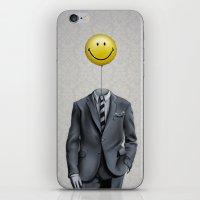Mr. Smiley :) iPhone & iPod Skin
