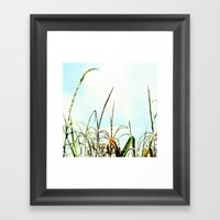 Reach For The Clouds Framed Art Print