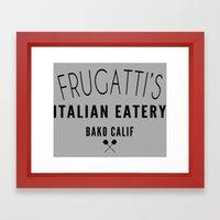FRUGATTI'S CALIF Framed Art Print