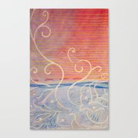 Pink or Blue Canvas Print
