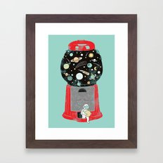 My childhood universe Framed Art Print