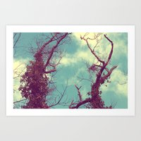 Art Print featuring They Lived Like Giants by Oh, Good Gracious!
