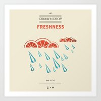 Bar Tools 2 - Freshness Art Print
