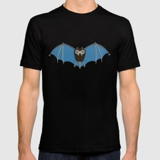 The bat! Black SMALL Mens Fitted Tee