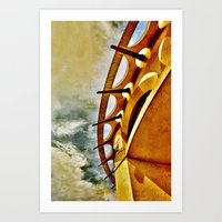 Greek To Me Art Print