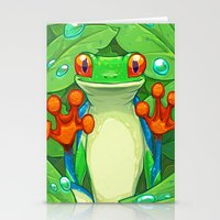 Frankie The Frog Stationery Cards