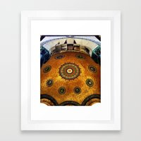 Gold Dome Framed Art Print