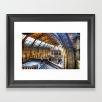 The Great Hall Framed Art Print