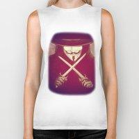 V for Vendetta4 Biker Tank