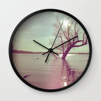 Peaceful Lake! Wall Clock