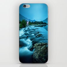 tranquil waterfall iPhone & iPod Skin