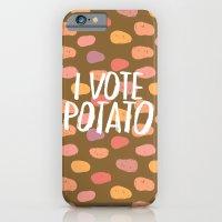 I Vote Potato iPhone 6 Slim Case
