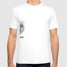 coolar bear White Mens Fitted Tee SMALL