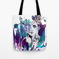 Tribal Girl - Colourway - Tote Bag