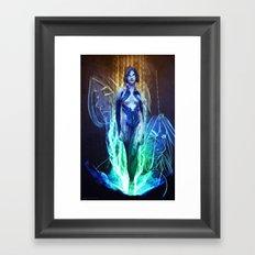 Cortana Framed Art Print