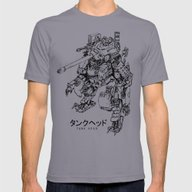 T-shirt featuring TankHead (Lineart)  by Emerson Tung