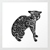 Artcat Art Print