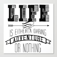 Adventure Canvas Print