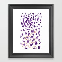 Drawing Framed Art Print
