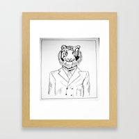 Fine Feline  Framed Art Print