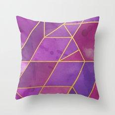 Shattered Tourmaline 2 Throw Pillow
