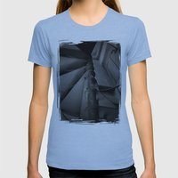 Old Factory 4 Womens Fitted Tee Athletic Blue SMALL