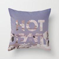 HOT DEATH Throw Pillow