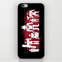 Plastic Villains  iPhone & iPod Skin