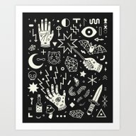Witchcraft Art Print