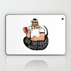 DOTH THOU EVEN LIFT, BROTHER? Laptop & iPad Skin