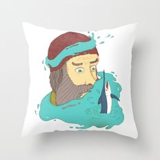 Fisherman's dream Throw Pillow