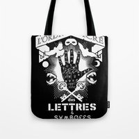 The Sacred Order Of Lett… Tote Bag