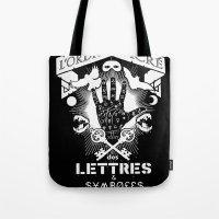 The Sacred Order Of Lett… Tote Bag