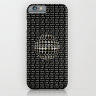 iPhone & iPod Case featuring WE ARE ONE by Klara Acel