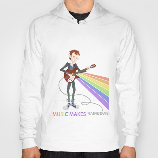Radiohead Thom in Rainbows Hoody