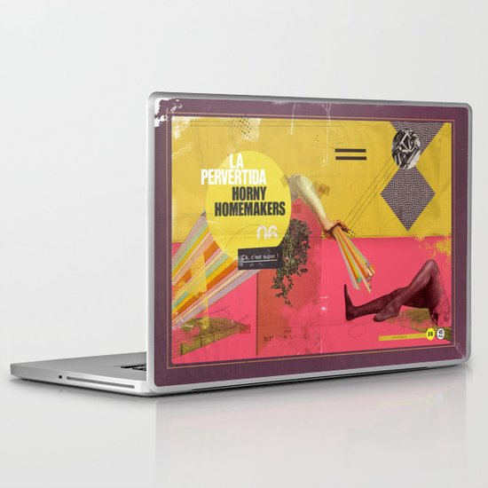 "7 Sins Contest ""Lust"" Laptop & iPad Skin"