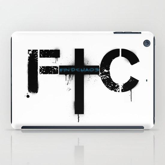 FindChaos - Logo iPad Case