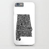 Typographic Alabama iPhone 6 Slim Case