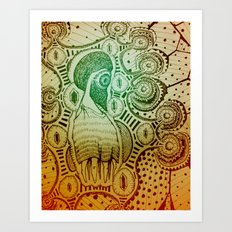 Gilded Dream Art Print