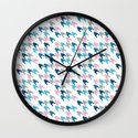 Pink Tooth Wall Clock