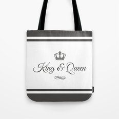 King & Queen Tote Bag