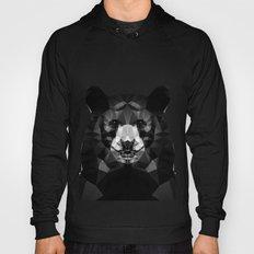 Bear - Black Geo Animal Series Hoody