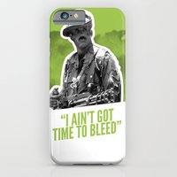 iPhone & iPod Case featuring Badass 80's Action Movie Quotes - Predator by Casa del Kables